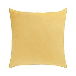Home Collection - Yellow velvet cushion