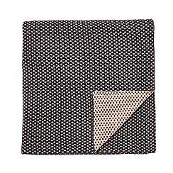 Murmur - Charcoal 'Dotto' throw