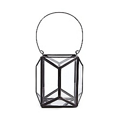 Debenhams - Black wire tea light holder
