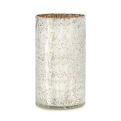 Debenhams - Silver crackle vase