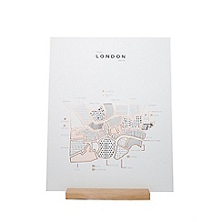 Roam by 42 pressed - London map