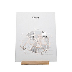 Roam by 42 pressed - Paris map
