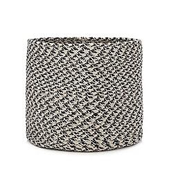 Debenhams - Large Grey Woven Storage Basket