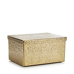 Abigail Ahern/EDITION - Gold Hammered Box
