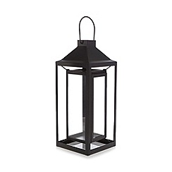 Home Collection - Black glass lantern