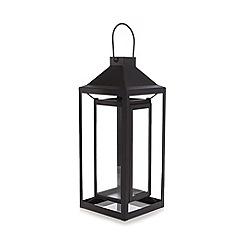Home Collection - Black glass lantern