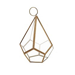 Home Collection - Large diamond shaped lantern