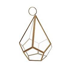 Home Collection - Large diamond shaped lantern