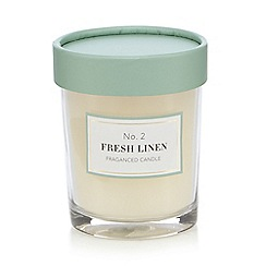 Home Collection - Fresh linen scented votive candle