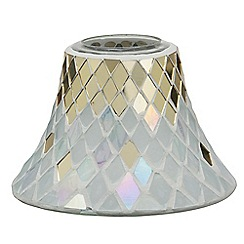 Yankee Candle - Celebrate mosaic large shade and tray