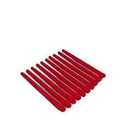 Home Collection - Pack of 10 red dinner candles
