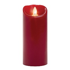 Mirage - 3 x 7 Mirage SD smooth pillar red