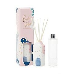 Debenhams - Pink Ceramic Pomelo and Vetiver Fragranced Diffuser