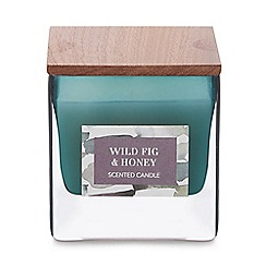 Debenhams - Green Small Wild Fig and Honey Scented Candle