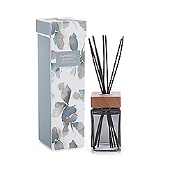 Debenhams - Blue Patchouli and Linen Scented Reed Diffuser
