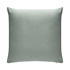 Debenhams - Pale Blue Chambray Cushion