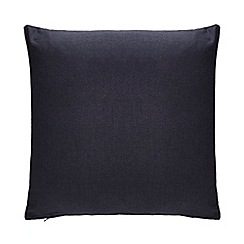 Debenhams - Navy Chambray Cushion