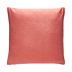 Debenhams - Red Chambray Cushion