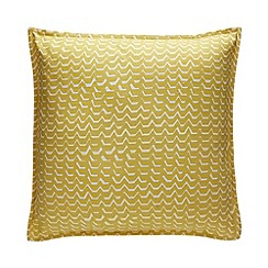 Debenhams - Yellow 'Norsjo' Cushion