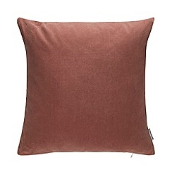Debenhams - Red Velvet Cushion