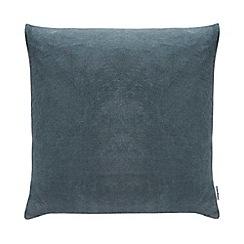 Debenhams - Blue Velvet Cushion