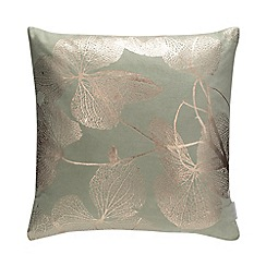 Debenhams - Green Leaf Cushion