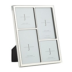 J by Jasper Conran - Designer silver four photo frame