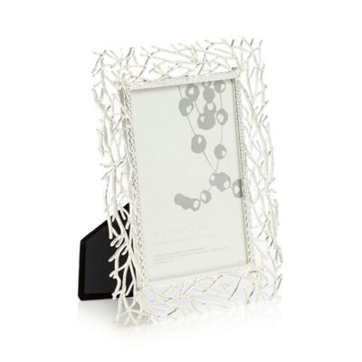 RJR.John Rocha Silver willow design photo frame | Debenhams