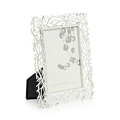 RJR.John Rocha - Silver willow design photo frame