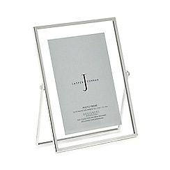 J by Jasper Conran - Silver hinged photo frame