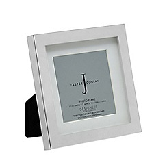 J by Jasper Conran - Silver block photo frame