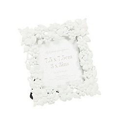 Home Collection - White daisy photo frame