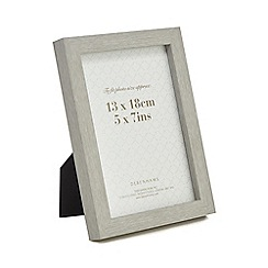 Home Collection - Grey wood effect photo frame