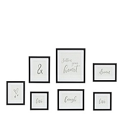 Home Collection - Set of seven photo frames