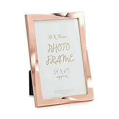 Home Collection - Rose gold twisted photo frame