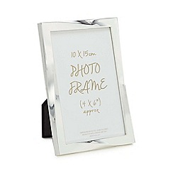 Home Collection - Silver twisted photo frame