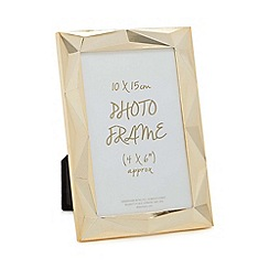 Home Collection - Gold 'Edgy' photo frame