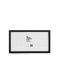 Home Collection - Black Three Aperture Photo Frame