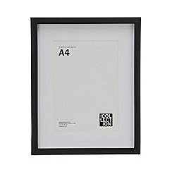 Home Collection - Black A4 Photo Frame