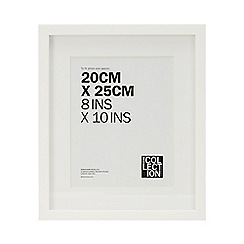 Home Collection - White Photo Frame