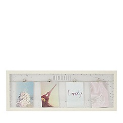 Home Collection - Wood 'Memories' Clip Photo Frame