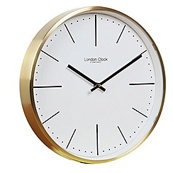 London Clock - Gold wall clock