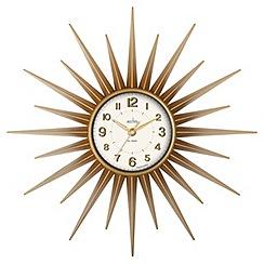 Acctim - Gold 'Stella' wall clock