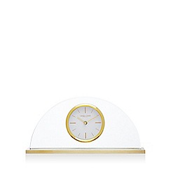 London Clock - Gold half moon mantel clock