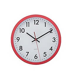 Home Collection Basics - Pink 'Tilly' wall clock