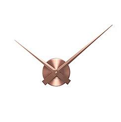 Karlsson - Little big time mini aluminium copper wall clock