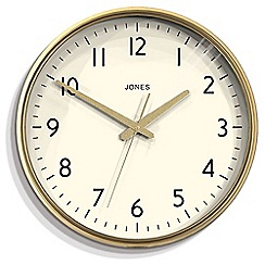 Jones - Gold supermoon wall clock