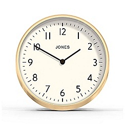 Jones - Gold office mantel wall clock