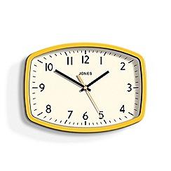 Newgate - Yellow sketch wall clock