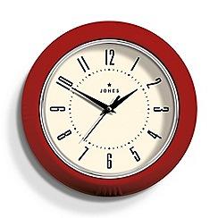 Newgate - Red gloss finish ketchup wall clock
